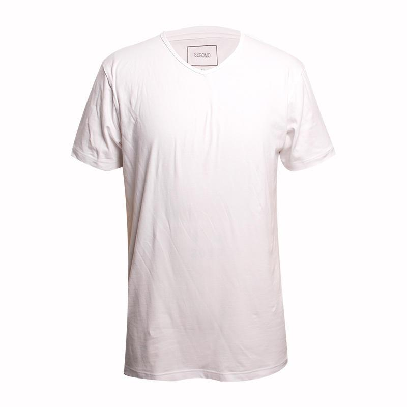 blank tshirt white short sleeves 95 cotton 5 lycra