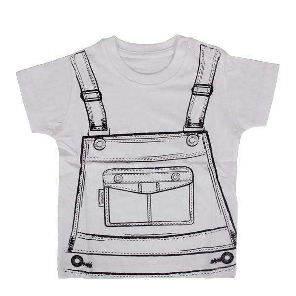 White cartoon new fashion dress for boy