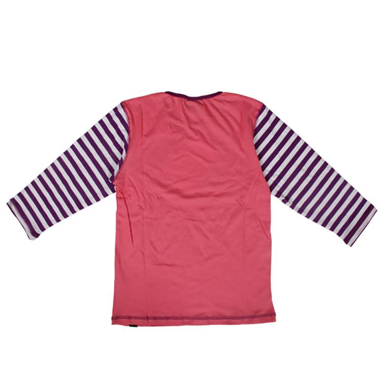 Long sleeve cotton and spandex cute children clothes