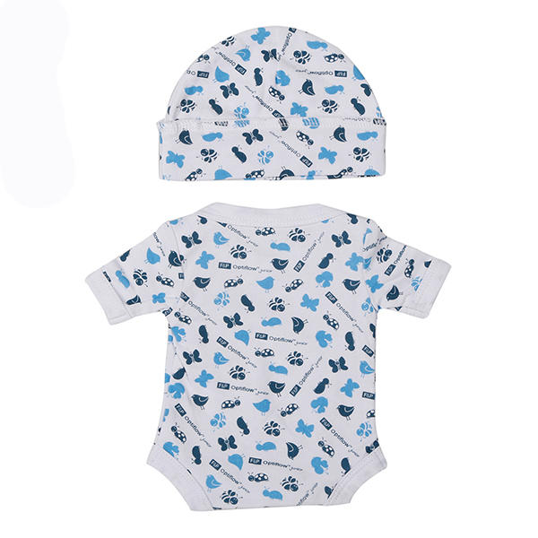 All over printing baby suit set