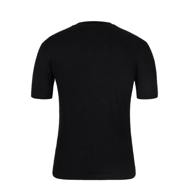 mens compression t shirt black printing
